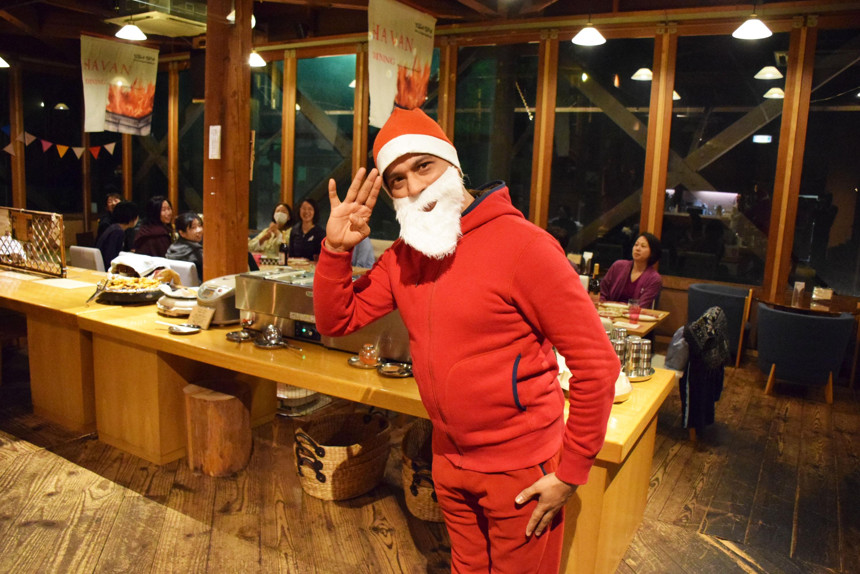 第6回ヨガリトリートクリスマスパーティー